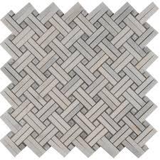 Marble Backsplash Tile Home Depot by Basketweave Backsplash Tile Flooring The Home Depot