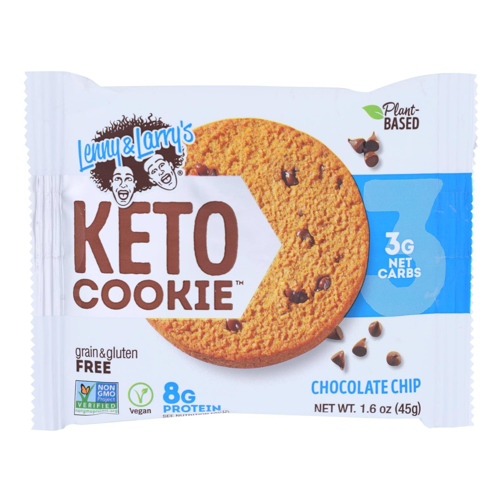Lenny & Larry's Keto Cookie, Chocolate Chip - 1.6 oz