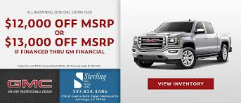 100 Trucks For Sale In Lake Charles La Sterling Buick GMC West In Jennings Arthur