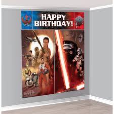 Scene Setters Halloween by Star Wars 7 The Force Awakens Scene Setter Birthdayexpress Com