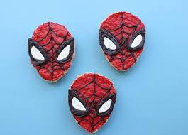 Rice Krispie Halloween Treats Spiders by Spider Man Rice Crispy Treats Disney Family