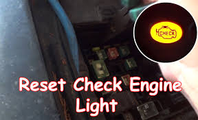Malfunction Indicator Lamp Honda Fit by Diy Reset Check Engine Light Without Obdii Reader Youtube