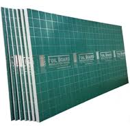 foilboard 2440 x 1200 x 25mm cathedral 25 insulation bunnings