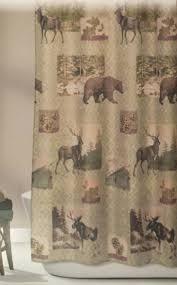 Moose Bear Shower Curtains • Shower Curtains Design