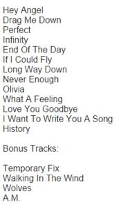 No Ceilings Track List Download by Best 25 Olivia One Direction Lyrics Ideas On Pinterest Olivia