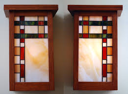 craftsman mission outdoor lighting arts and crafts wall style