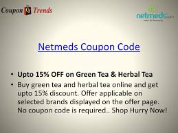 PPT - Netmeds Coupons: Discount Coupon, Promo Codes, Deals ...