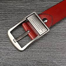 2017 New Fashion Genuine leather belts men Luxury waistband male