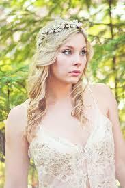 Flower Crown Rustic Head Wreath Wedding Headband Bridal