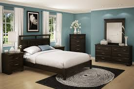 Bedroom Cheap Queen Bedroom Sets With Dark Wooden Material And