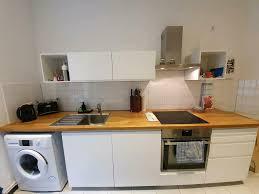ikea voxtorp küche mit 2 zeilen tiefe arbeitsplatte