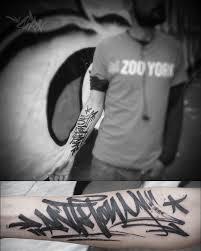 Sorn Smb Tattoo Anthony Tag Graffiti