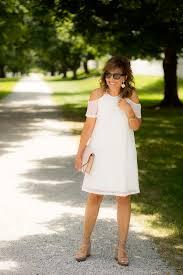 white dress for a summer brunch grace u0026 beauty