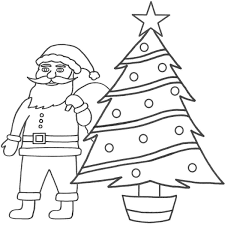 Christmas Tree Color Page Coloring Pages Christmas Tree Coloring