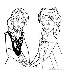 Stylish Design Elsa Printable Coloring Pages Frozen Free Olaf In Summer Games