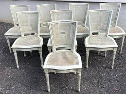 Set Of 8 French Louis XVI Painted Dining Chairs - Lodewijk ... How To Transform A Vintage Ding Table With Paint Bluesky Pating My Antique Six Edwardian French Painted Chairs 364060 19th Century Country Set Of 6 Balloon Back Good 1940s Faux Bamboo Eight 1920s Pair Regency 2 Side White Chippy Chair Early 20th Louis Xvi Chairsset 8 Abc Carpet Home Style Fniture And European Buy Cheap Punched Wood Handpainted