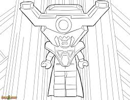 The LEGO Movie Coloring Page Lord Business Printable Color Sheet