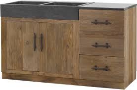 porte de cuisine en bois brut cuisine en bois massif meuble ind pendant brut newsindo co