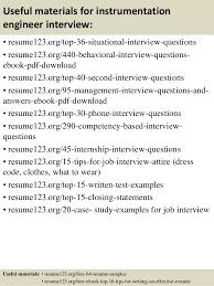 top 8 instrumentation engineer resume sles