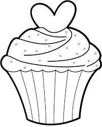 "iColor ""Cupcakes"" A Valentine Cupcake"