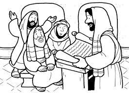 Preaching Bible CraftsColoring SheetsColoring