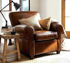 Pottery Barn Leather Chair Chair Pottery Barn Leather Club Chair