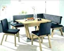 Corner Dining Seating Room Tables With Benches Bench