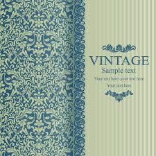 Floral Vintage Backgrounds Vector 04