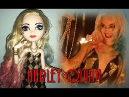 DOLL REPAINT Harley Quinn Suicide Squad Doll YouTube