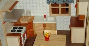 hochwertig puppenhaus einrichtung holz bodo hennig küche