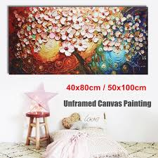 Abstract Forest Girl Canvas Art Painting Poster Room Picture Home