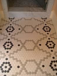 brown hexagon floor tile images tile flooring design ideas