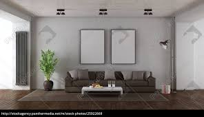 stock photo 25922669 minimalist living room