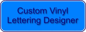 Custom vinyl lettering Tribal Signs