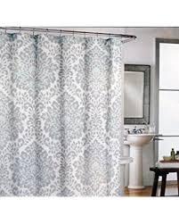 Spectacular Deal on Cynthia Rowley Fabric Shower Curtain Gray