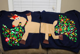 Diy Christmas Story Leg Lamp Sweater by Rockin U0027 Around The Christmas Tree At The Ugly Sweater Party The