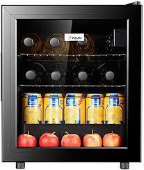 mini kühlschrank minibar 60l schwarz doppelt isolierte