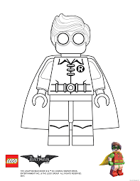 Lego Power Rangers Coloring Pages