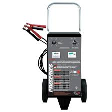 100 Heavy Duty Truck Battery Charger Wheel 61224 Volt 300701530 Charging Amps