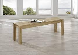 sam esszimmer sitzbank bastian 140 x 35 cm aus geölter kernbuche sitzfläche aus massivem holz ohne rückenlehne geeignet für 3 personen