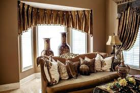 Rustic Living Room Curtains Modern Black Drum Shade Arch Lamp Lights Curtain Ideas Brown