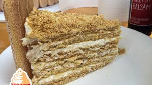 torte medovik vanilletanz