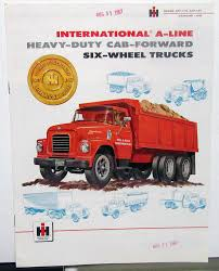 1957 International IHC Truck Model ACF 170 180 Gas LPG Sales Brochure