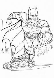 Online Batman Coloring Page Free To Print