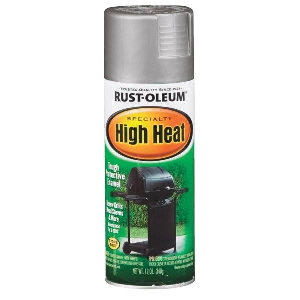 Rust-Oleum High Heat Tough Protective Enamel - 12oz