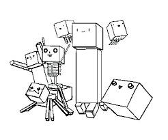 Stampy Coloring Pages New Advance Of
