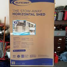 Suncast 7x7 Shed Accessories by Suncast Shed Ebay
