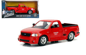 100 Lightning Truck Ford F150 SVT Red Brians Fast Furious 124 By