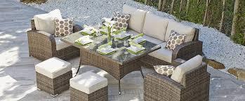 patio sofa dining set manufacturer outdoor sofa dining set rattan garden furniture