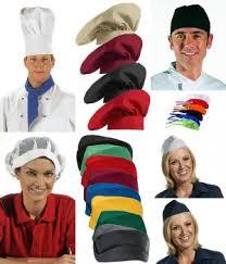 coiffe de cuisine vêtements cuisine et restauration biomidi